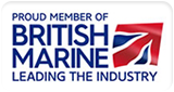Proud member of British Marine - leading the industry