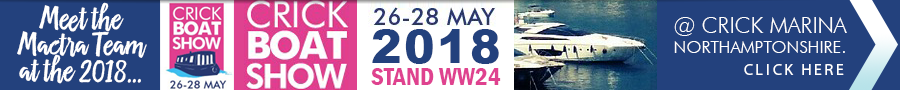 Crick Boat Show 26-28 May 2018 @ Crick Marine Northamptonshire