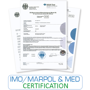 IMO MARPEL MED certificates