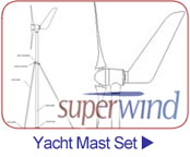 Superwind Yacht Mast Set