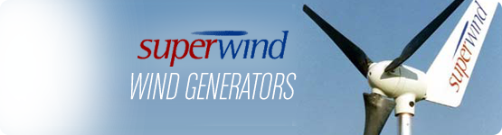 Superwind Wind Generators Logo & Photo